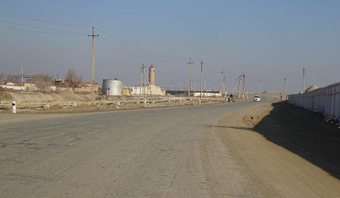 Straße in Usbekistan