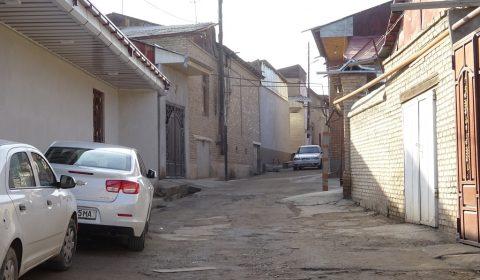 Gassen in Samarkand