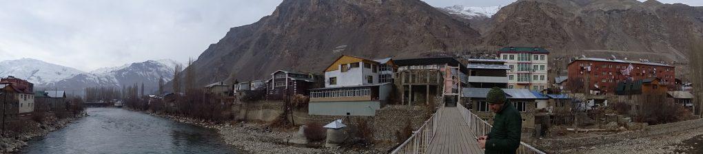 Panorama von Khorog
