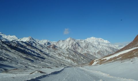 Pamir im Winter