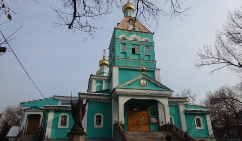Nikolaus-Kathedrale von außen