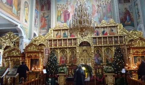 Nikolaus-Kathedrale von innen