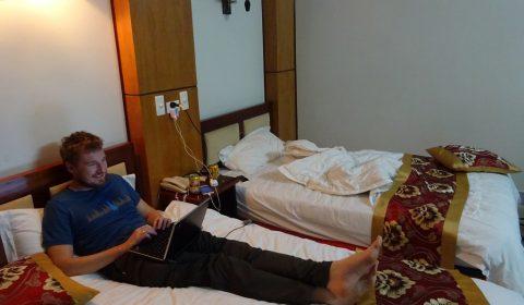 Hotelzimmer in Dien Bien Phu