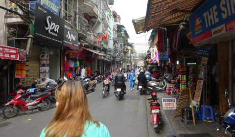 Bummel durch die Altstadt von Hanoi