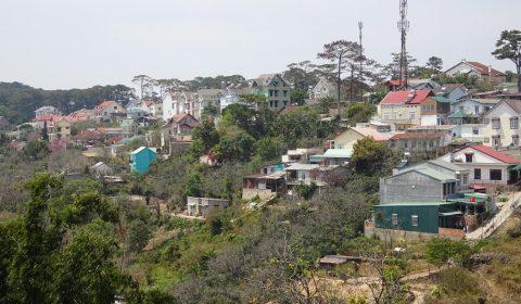 Berg und Tal in Dalat