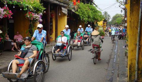 Fahrradtaxis in Hoi An