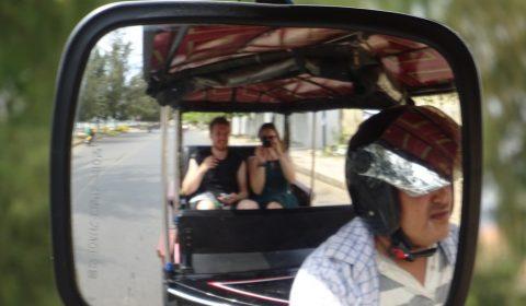 TukTuk Fahrt in Kampot