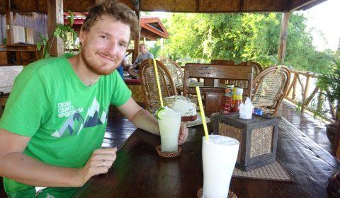 Kokosnuss-Shake