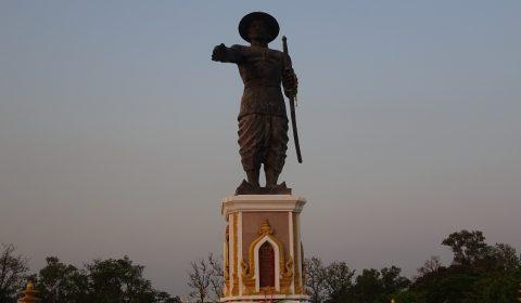 Statue von König Anouvong der Chao