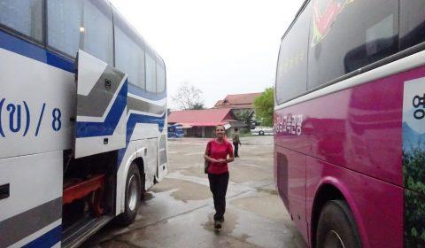 Busbahnhof in Luang Prabang