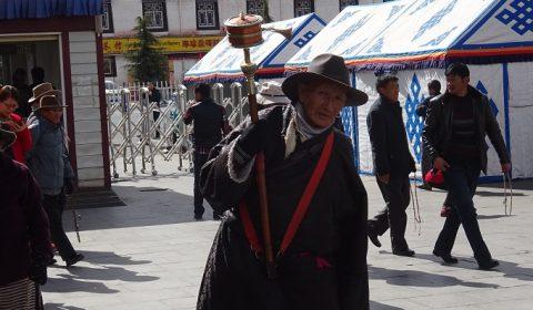 Tibeter auf Pilgerreise