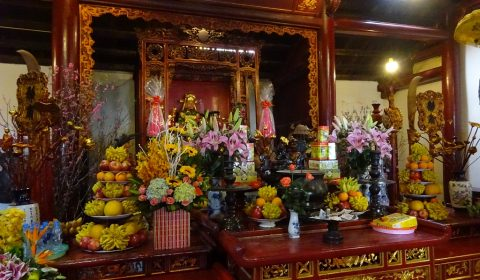 Jadeberg Tempel in Hanoi
