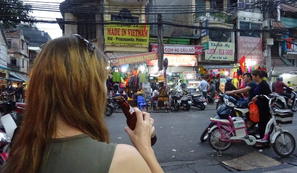 Im Getümmel von Hanoi