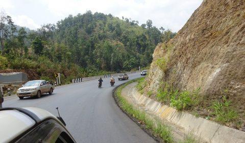 Straße nach Hpa-an