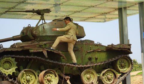 Panzer auf dem A1 Hügel