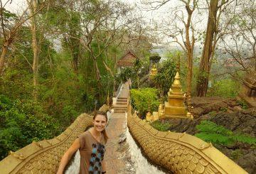 Party und Tempel in Vang Vieng und Luang Prabang