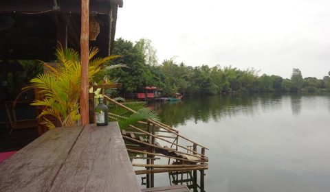 Fluss in Kampot
