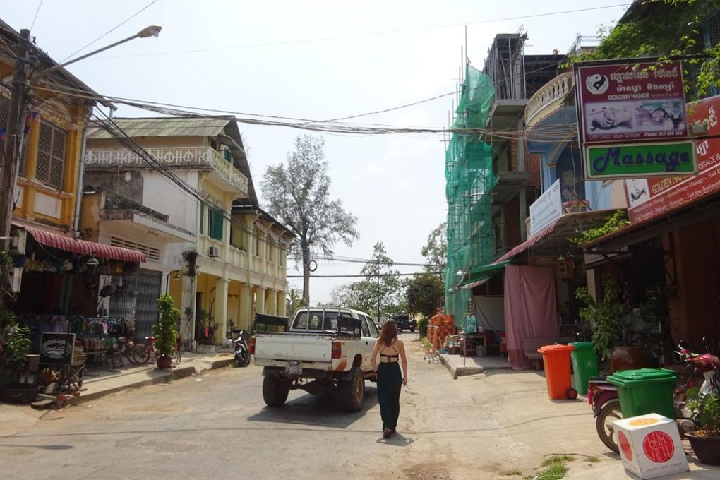 Innenstadt von Kampot